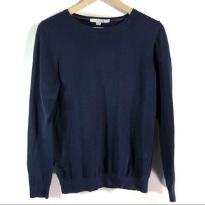 Boden Navy Blue Crew Neck Pullover WV039 Sweater 8
